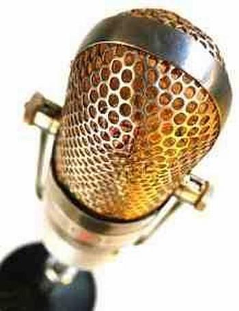 Udvalg af melodier - billede af mikrofon